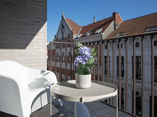 Furnished 1BR Flats near Antwerp City Center