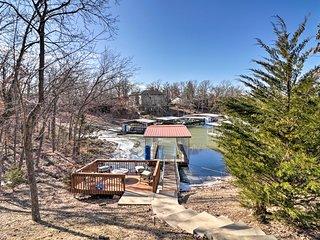 Waterfront Lake of the Ozarks Estate w/ Dock!