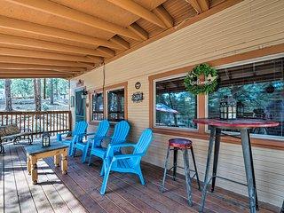 Ruidoso Cabin - 2 Miles from Grindstone Lake!
