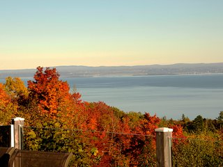 St Lawrence River in autumn