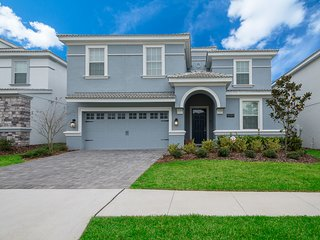 ♥ Orlando Disney ChampionsGate Golf 8BR/5BA Vacation Home (9089)