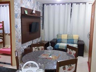Maravilhoso Flat com 2 quartos em Maragogi - 50m da praia!