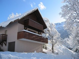Exclusive Rental of Self Catering Chalet in Picturesque Alpine Village Pourchery