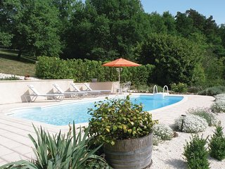 Awesome home in Brantome w/ WiFi and 1 Bedrooms