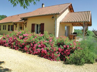 Awesome home in Rouffignac w/ WiFi and 3 Bedrooms (FAD330)