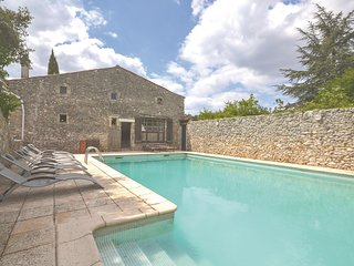 Nice home in Labastide-de-Virac w/ WiFi and 4 Bedrooms (FRA028)