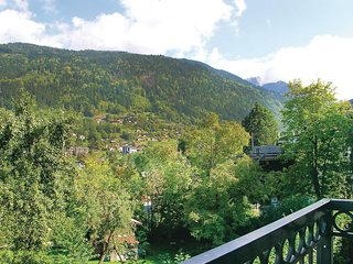 Beautiful home in St Gervais Les Bains w/ 1 Bedrooms (FRH011)