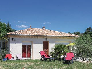 Beautiful home in Aubenas w/ WiFi and 3 Bedrooms (FRA122)