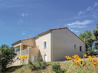 Nice home in Rochecolombe w/ WiFi and 2 Bedrooms (FRA136)