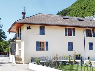 Nice home in Faverges w/ WiFi and 3 Bedrooms
