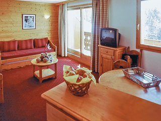 Awesome home in La Plagne w/ 2 Bedrooms