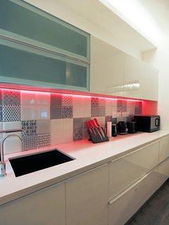 Kitchen - Equipped with kettle, Food processor, toaster, microwave and cookware and serveware