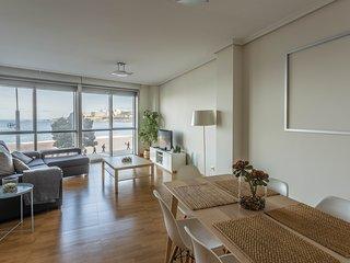 Apartamento nuevo con vistas a la playa de Riazor