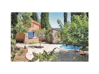 Nice home in La Garde Freinet w/ WiFi, Outdoor swimming pool and 2 Bedrooms