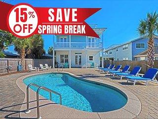 20%OFF Now-4/6/19! GULF View Luxury Home, Pool, Near Beach +FREE Bikes &Perks