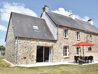 Amazing home in Saint-Germain-sur-Ay w/ WiFi and 4 Bedrooms