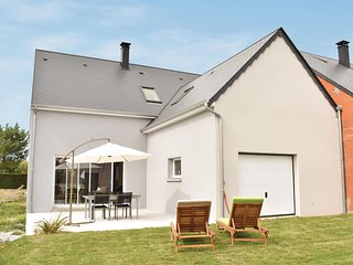 Beautiful home in Saint Germain sur Ay w/ WiFi and 2 Bedrooms