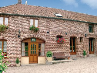 Nice home in Caumont w/ WiFi and 4 Bedrooms