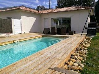Villa JUWEN de 70m2 piscine privee et chauffee