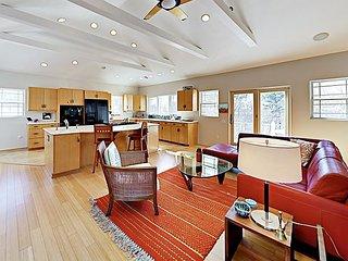 Striking West End Home w/ Water Views, Solarium & Epic Rooftop Deck