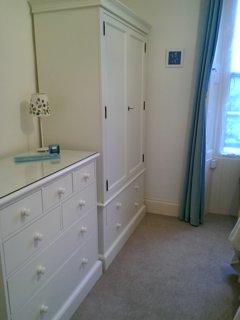 Rear bedroom , plenty storage