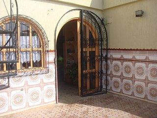 la terrasse rénovée