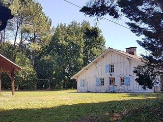 Domaine de Grand Jean - Ensemble 2 maisons avec piscine, sauna, pool house