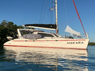 Spacious 3BR/3BA Catamaran as Private Sailing Charter up to 7 nights in Cape Cod