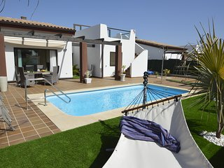 luxury and spaciuos villa decorated to high standards for relaxed holidays