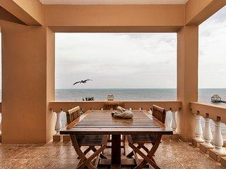 ♡ Hol Chan Reef Resort | Luxury top-floor oceanfront corner condo! 3 pools!