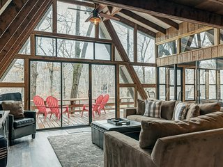 Shadow Lake Cottage by Sarah Bernard