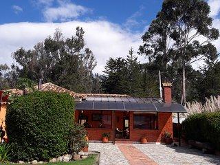 Casa campestre con vista Embalse del Tominé