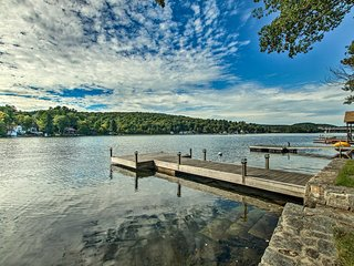 NEW! Quiet Waterfront Home w/Dock on Highland Lake