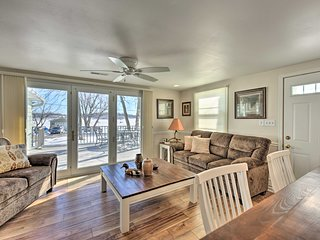 NEW! Lakefront Cambellsport Home w/Deck+Party Room