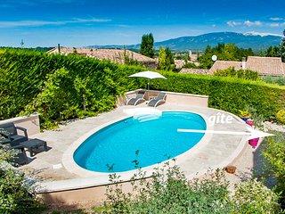 Gite 3* avec piscine au pied du Mt Ventoux et des Gorges de la Nesque