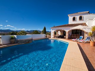 Los Arcos a great family villa for 8 people near Javea and Denia