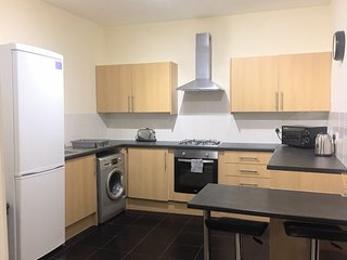 Town Centre Seaham large spacious flat sleeps 6