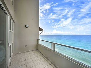 Oceanfront Resort Penthouse 2Mi from Rincon Plaza!