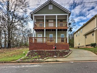 NEW! Home w/Balcony - Mins to Atlanta Attractions!