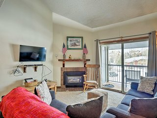Steamboat Condo w/Amenities - 1 Mi. to Resort
