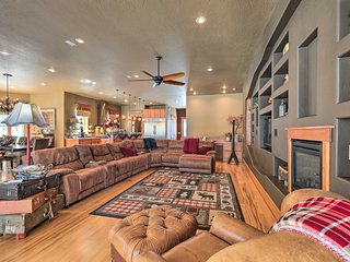 NEW! Spacious Flagstaff House w/ Deck & Gas Grill