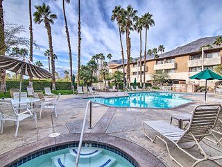 Chic Palm Springs Resort Condo w/ 2 Balconies