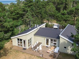 Beautiful home in Hirtshals w/ Sauna, WiFi and 4 Bedrooms (A03514)