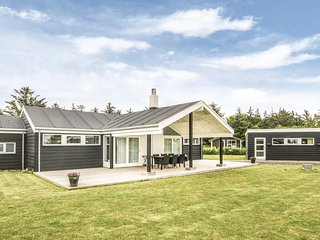 Stunning home in Hjørring w/ Sauna, WiFi and 4 Bedrooms (A06408)