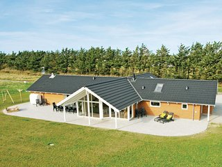 Beautiful home in Lokken w/ Sauna, WiFi and 5 Bedrooms (A07258)