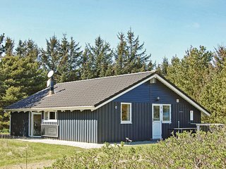 Nice home in Lokken w/ Sauna, WiFi and 3 Bedrooms (A07853)
