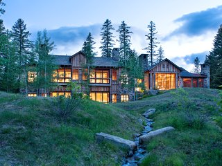 Rated 1 of the top 15 most beautiful homes by  Mountain Living Magazine