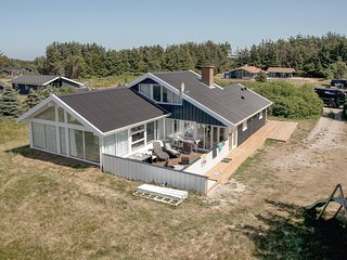 Stunning home in Lokken w/ Sauna, WiFi and 4 Bedrooms