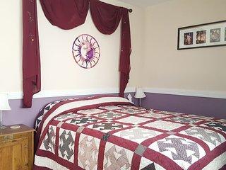 Peak View room at Sage View Ranch Paonia
