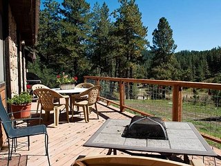 Secluded Mountain Retreat - Deck - Fire Pit - Shared Hot Tub